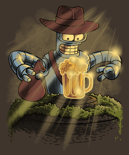 Qwertee: Bender Jones