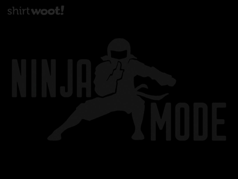 Woot!: Ninja Mode