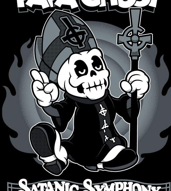 teeVillain: Papa Ghost