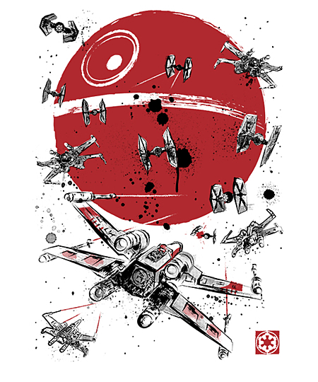 Qwertee: Battle of Yavin
