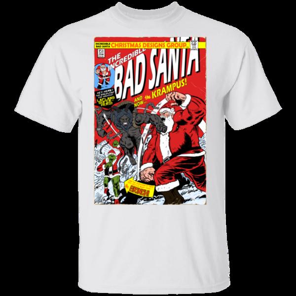 Pop-Up Tee: Bad Santa