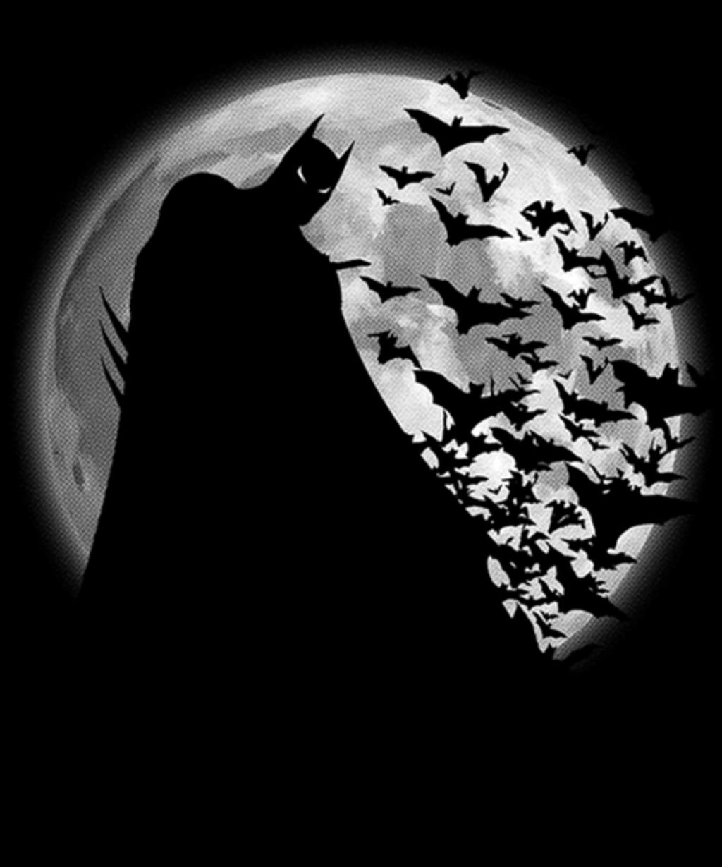 Qwertee: Shadow under the moon