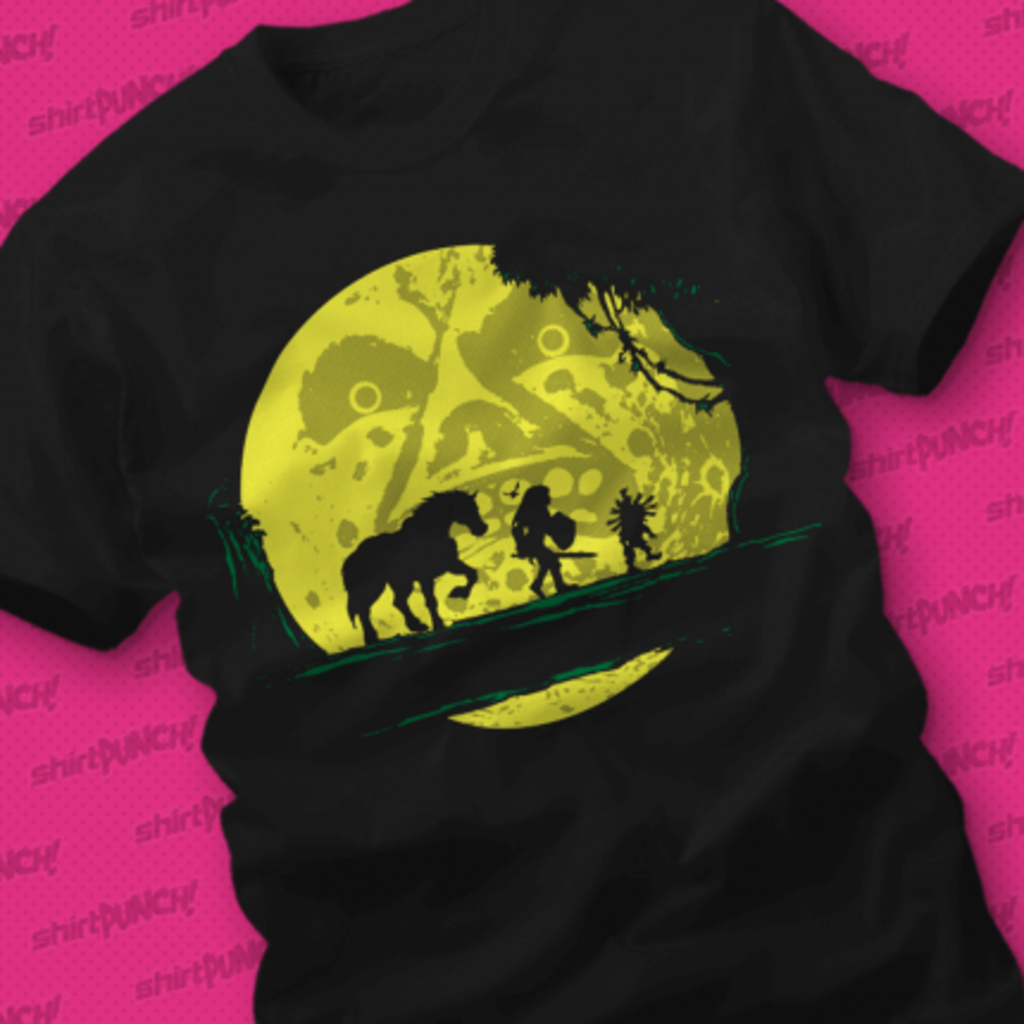 ShirtPunch: Hyrule Moonwalk