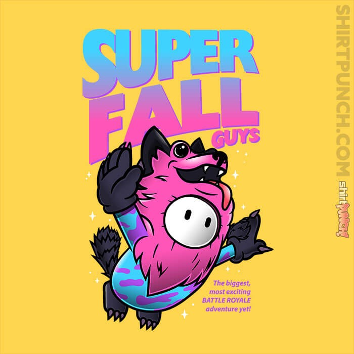 ShirtPunch: Super Fall Guys