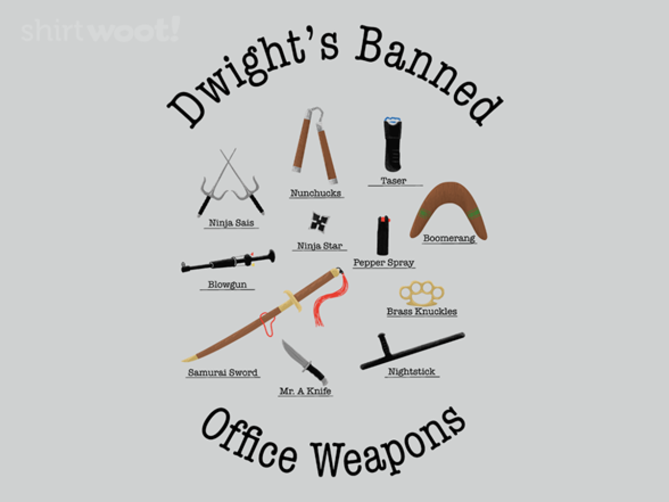 Woot!: Banned Weapons