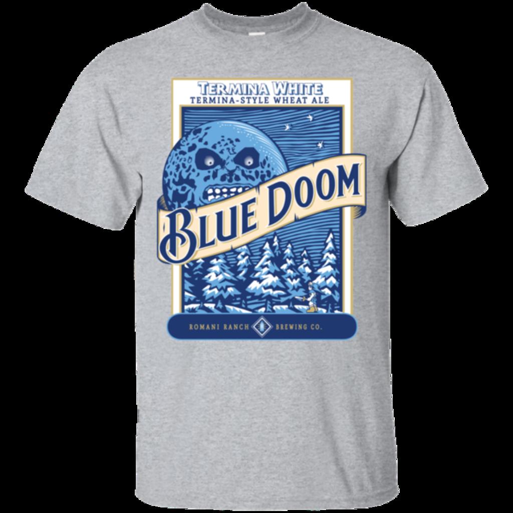 Pop-Up Tee: Blue Doom