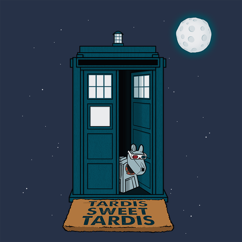 Pop-Up Tee: Tardis Sweet Tardis