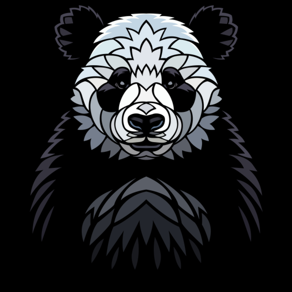 NeatoShop: Tribal Frontal Panda