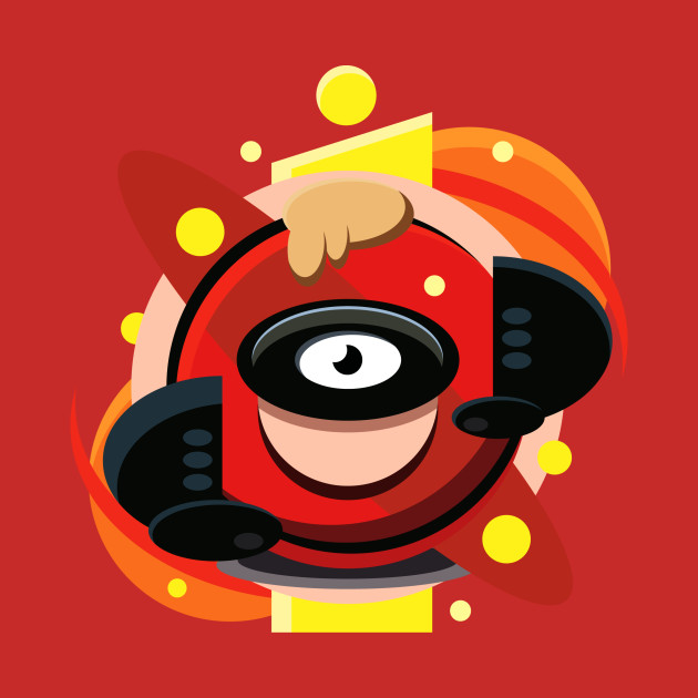 TeePublic: Mr Incredible Eye