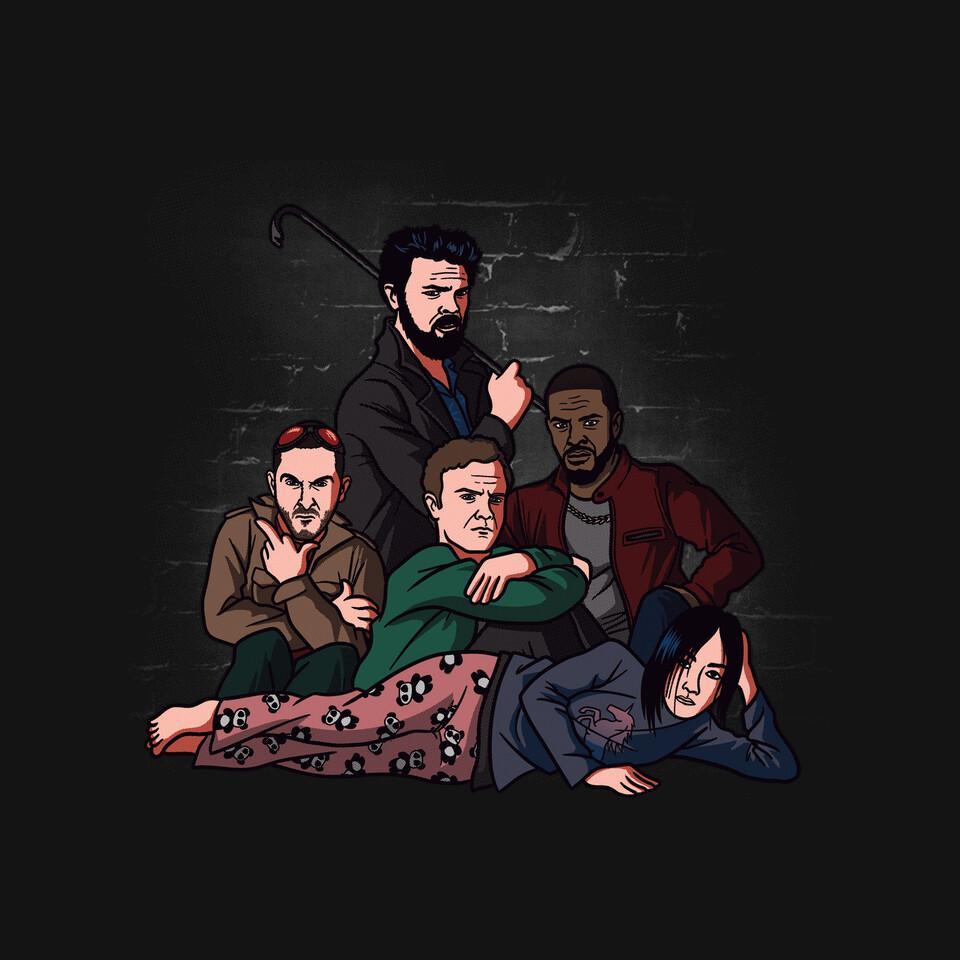 TeeFury: Boys Club