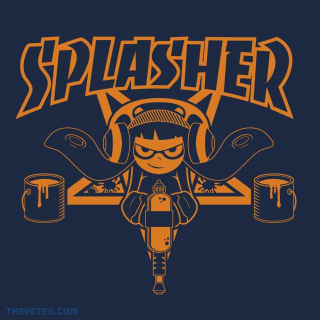 The Yetee: SPLASHER