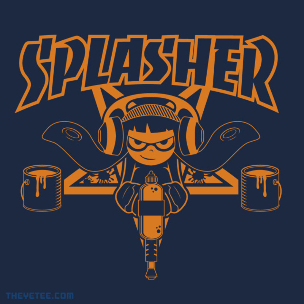 The Yetee: SPLASHER