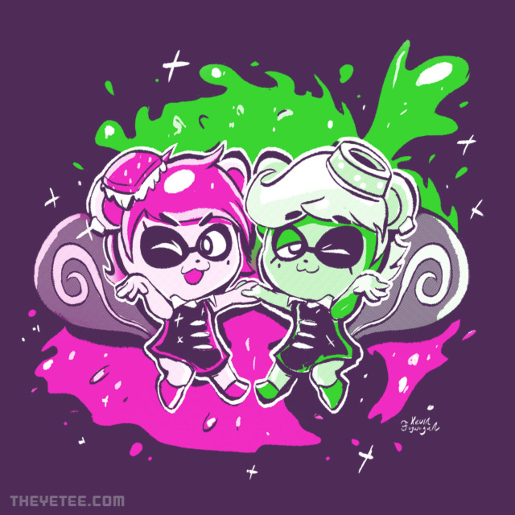 The Yetee: Fresh Friends