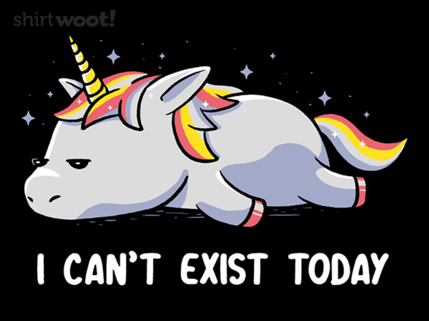 Woot!: I Can't Exist Today