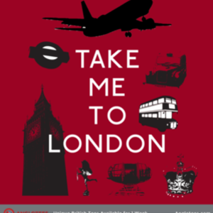 Anglotees: Take Me to London