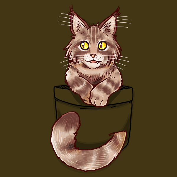NeatoShop: Pocket Cute Maine Coon