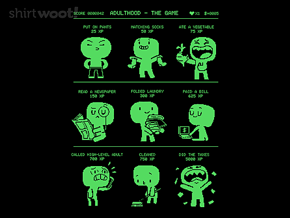 Woot!: Adulthood The Game
