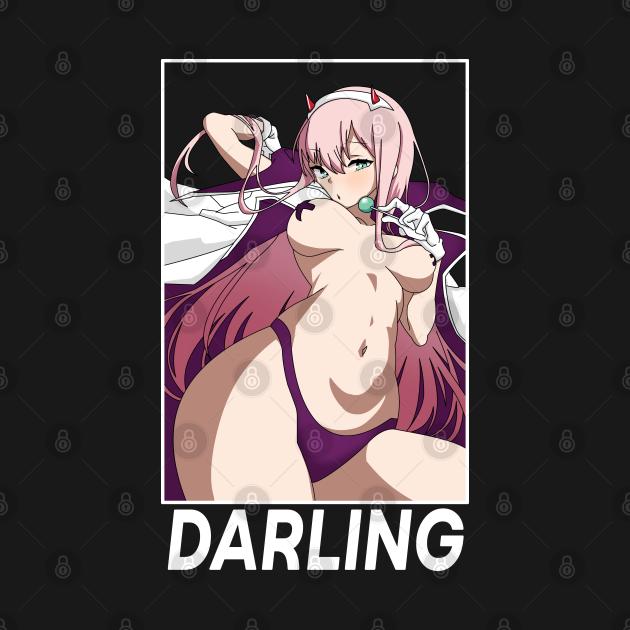TeePublic: Zero Two Hentai Anime Girl