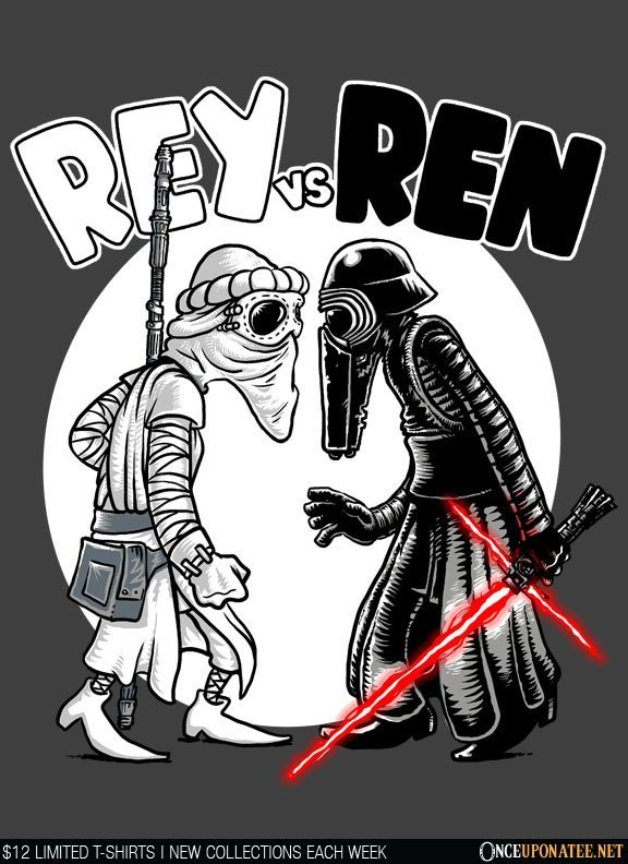 Once Upon a Tee: Rey vs. Ren