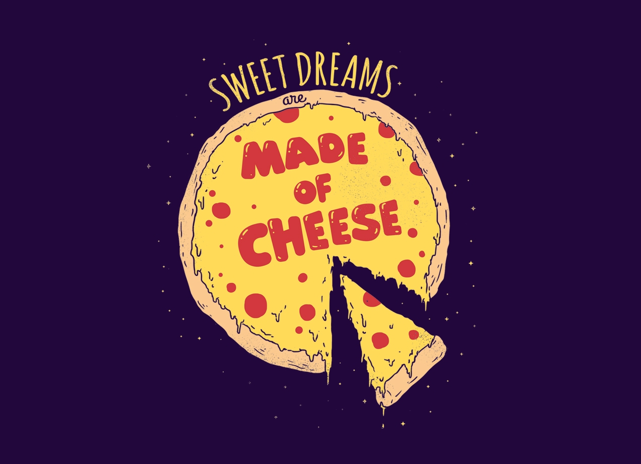 Threadless: Sweet Dreams Are Made of Cheese