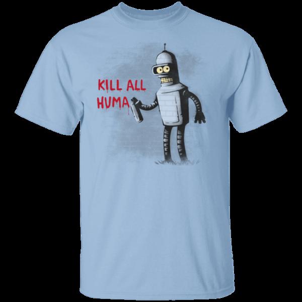Pop-Up Tee: Kill All Humans