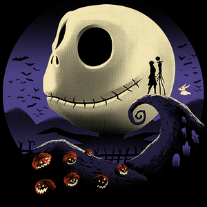 Qwertee: Pumpkins and Nightmares
