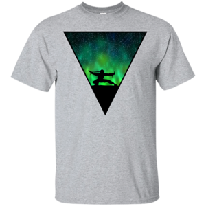 Pop-Up Tee: Northern Lights Pose