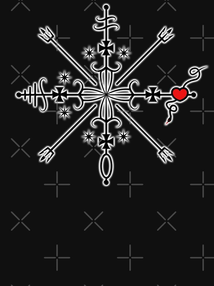 RedBubble: Veve of Baron Samedi. Design for Alex Marvin wish
