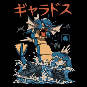 Once Upon a Tee: Flying Water Kaiju