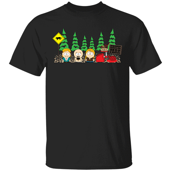 Pop-Up Tee: Exotic Park