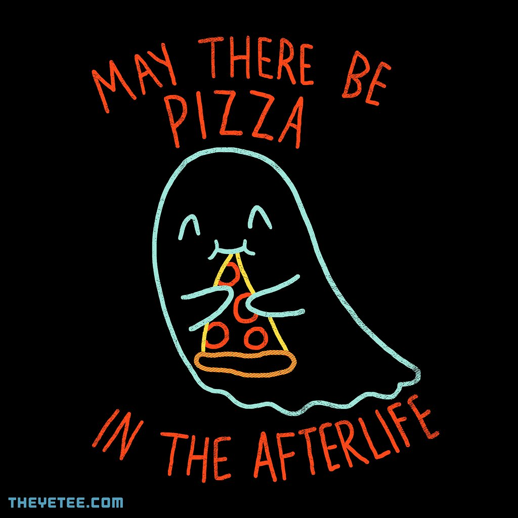 The Yetee: Pizza In The Afterlife