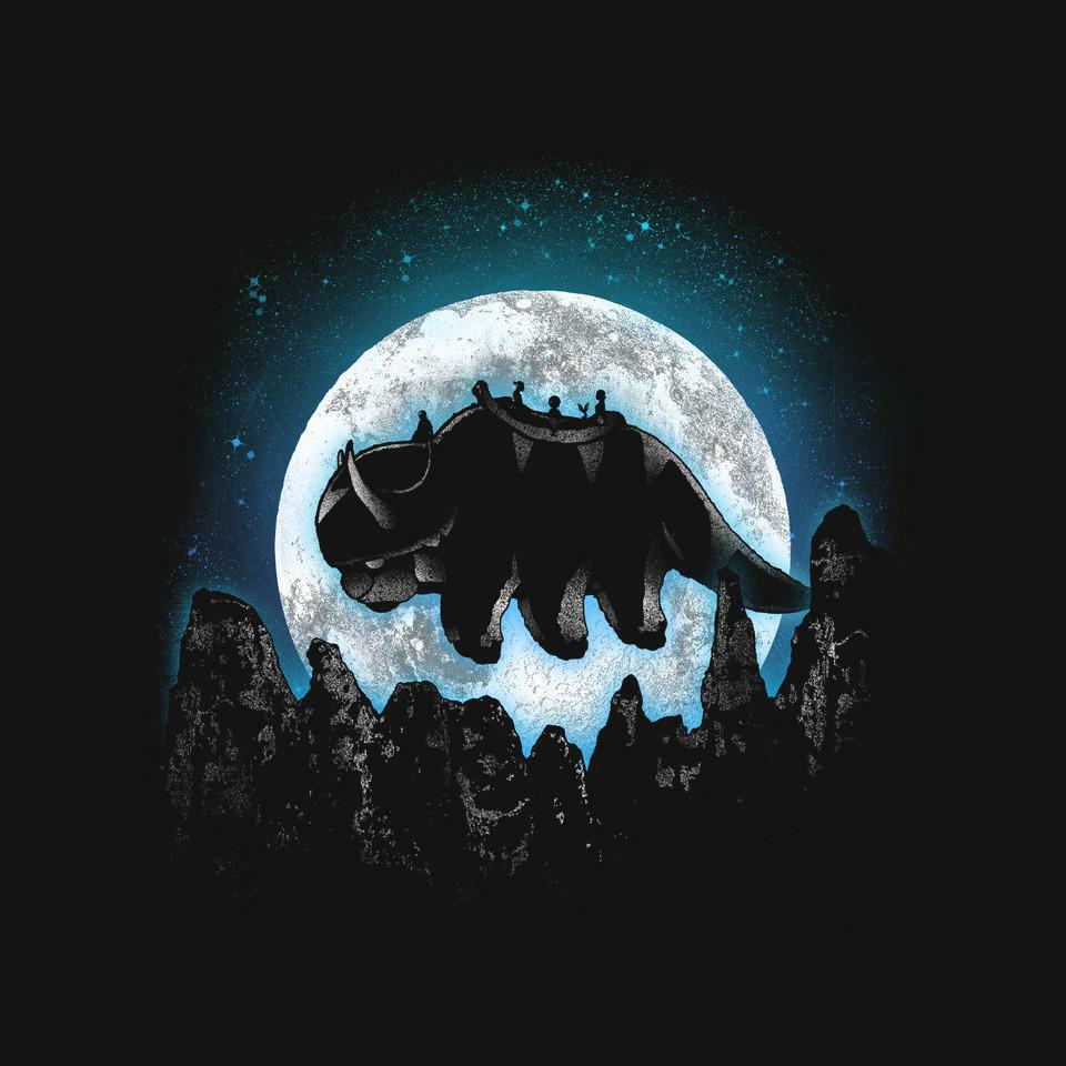 TeeFury: Moonlight Bison