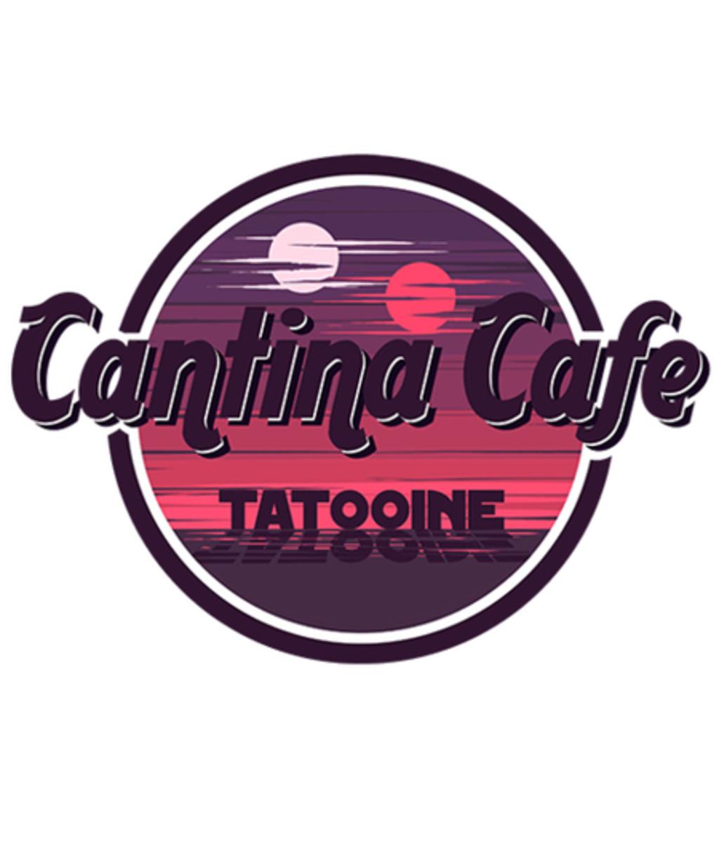 Qwertee: Cantina Tatooine