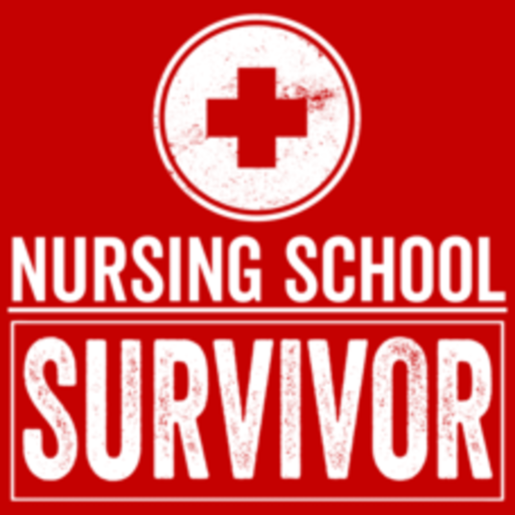Textual Tees: Nursing School Survivor
