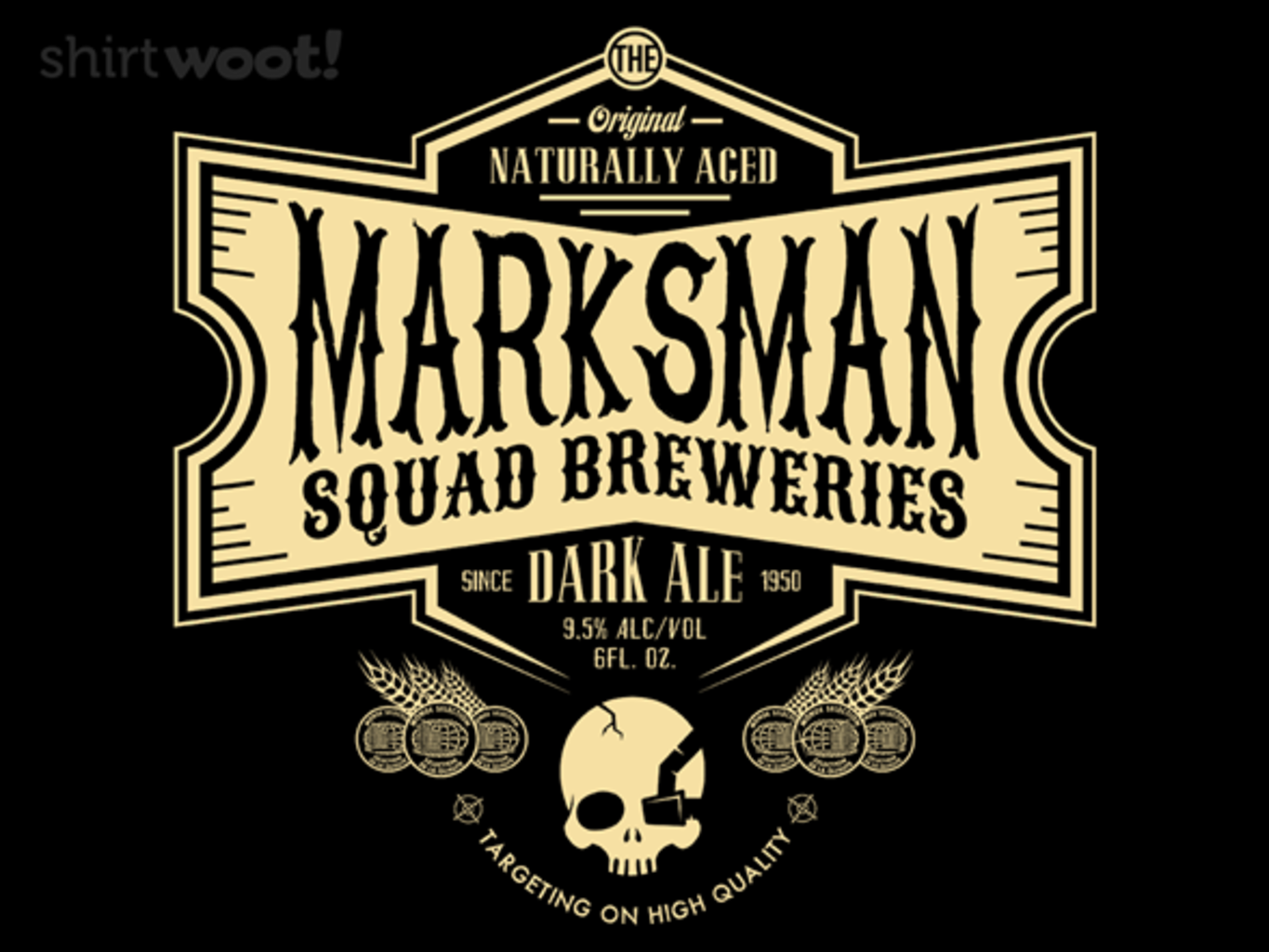 Woot!: Marksman - Squad Breweries - $7.00 + $5 standard shipping