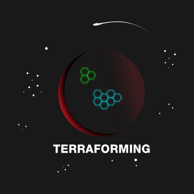 TeePublic: Terraforming Mars Boardgame