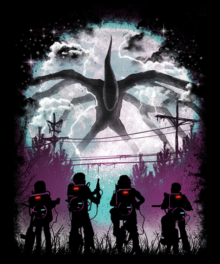 Qwertee: There's Something Strange