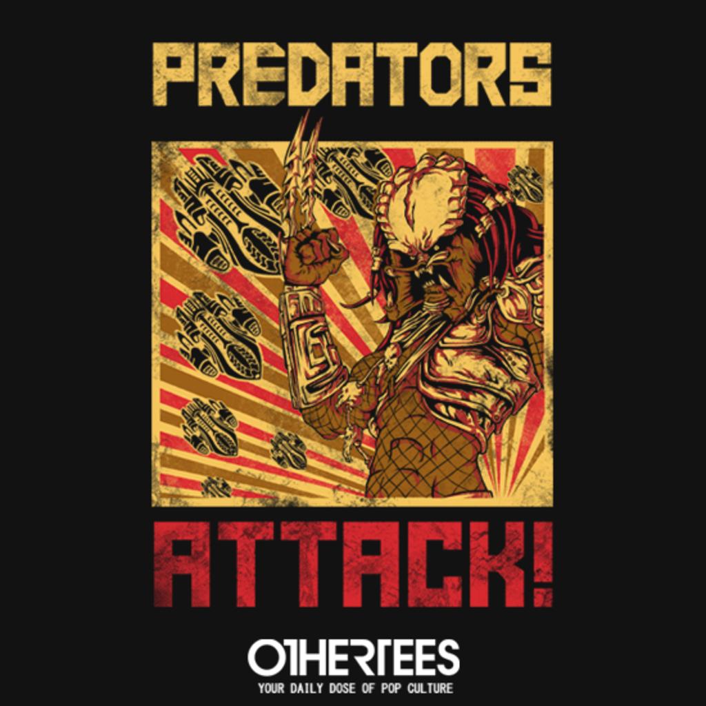 OtherTees: Predators Attack