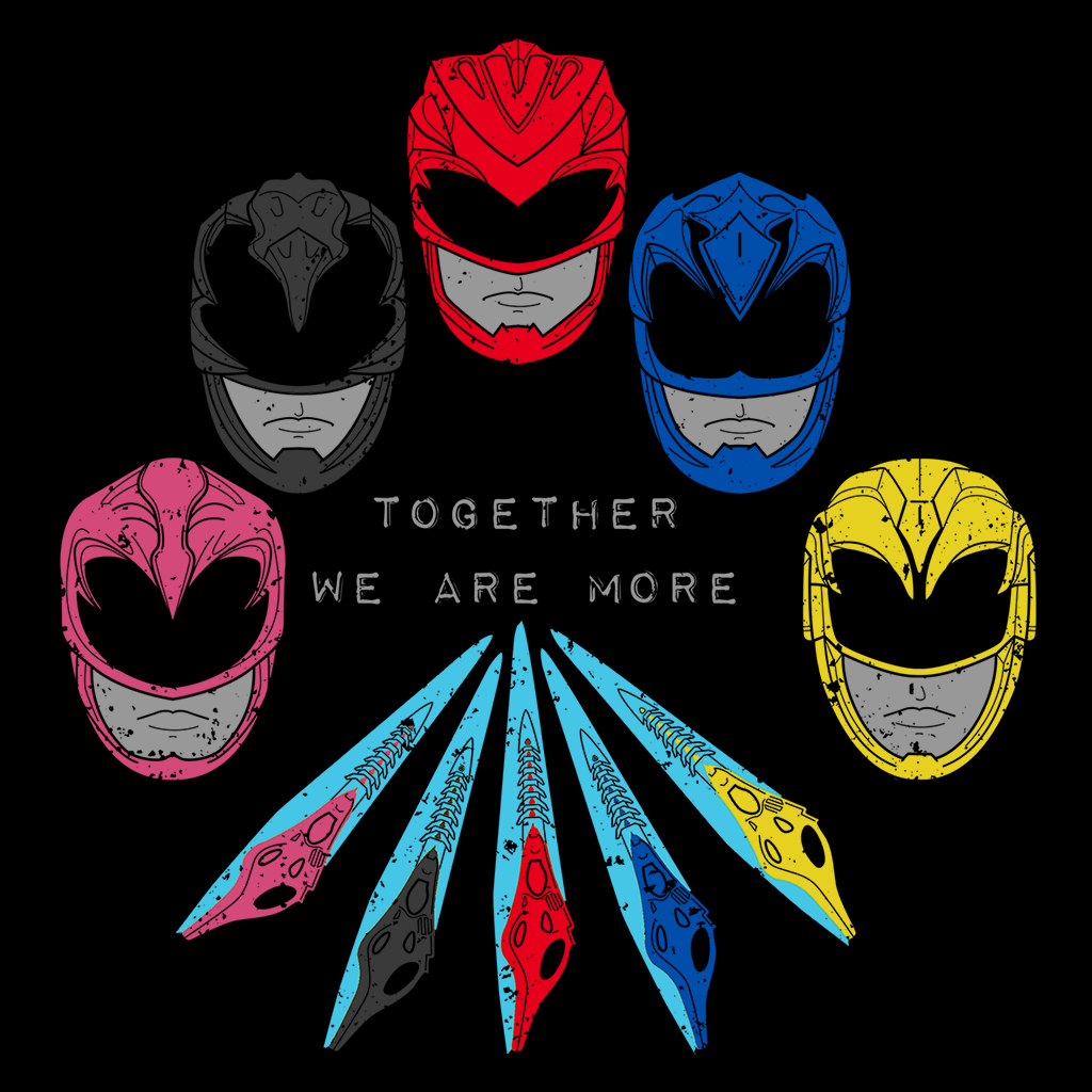 Pop-Up Tee: Power Together