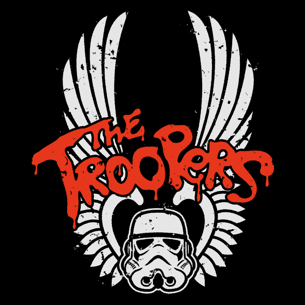 Pop-Up Tee: The Troopers