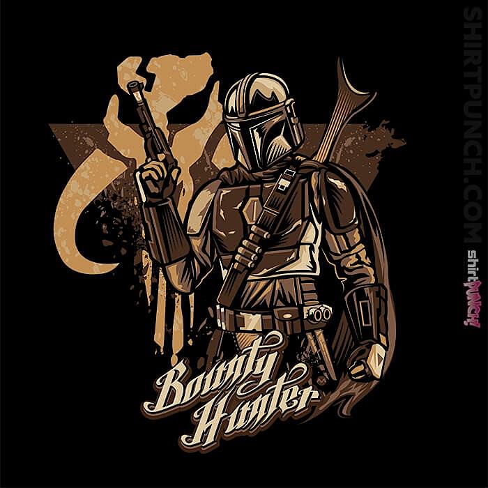 ShirtPunch: Mando Hunter