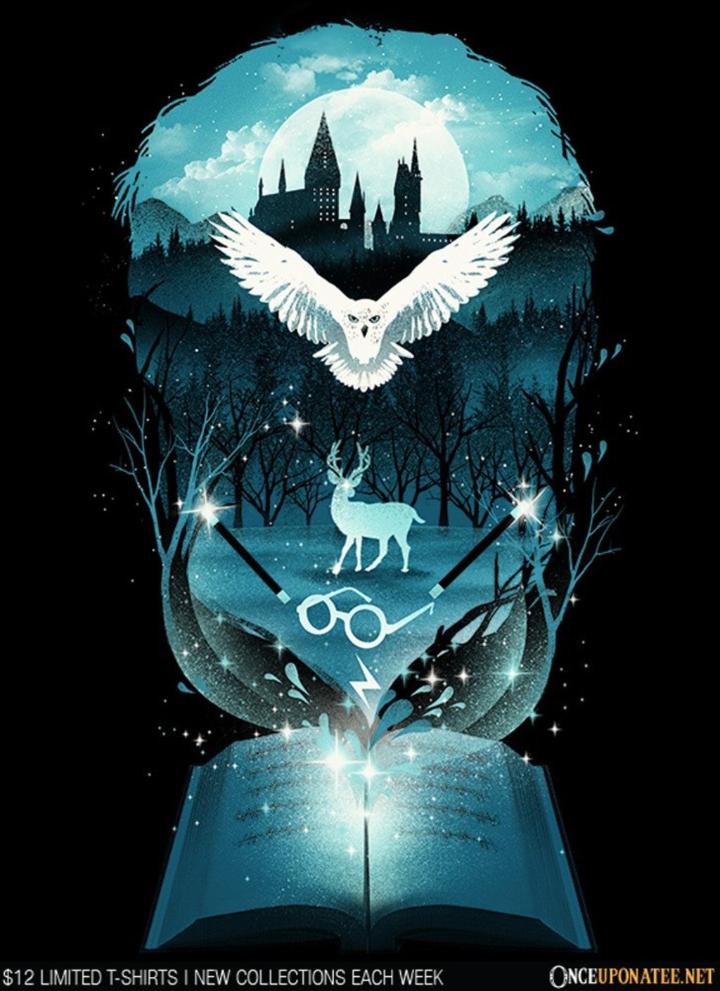 Once Upon a Tee: Book of Magic