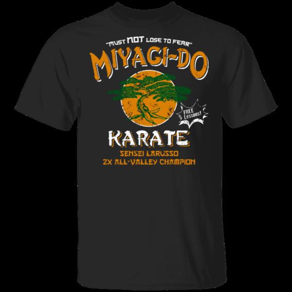 Pop-Up Tee: Miyagi Do Free Lessons