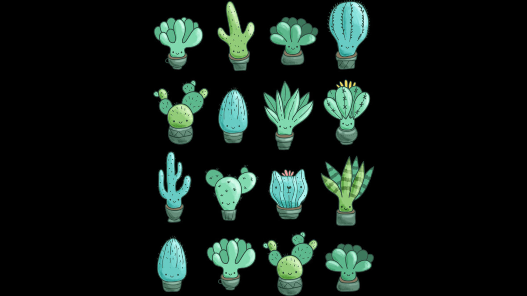 Design by Humans: Cacti & succulents