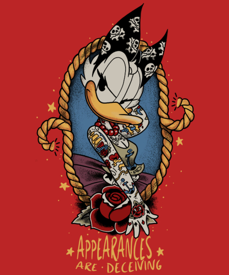 Qwertee: Old School's Daisy Duck