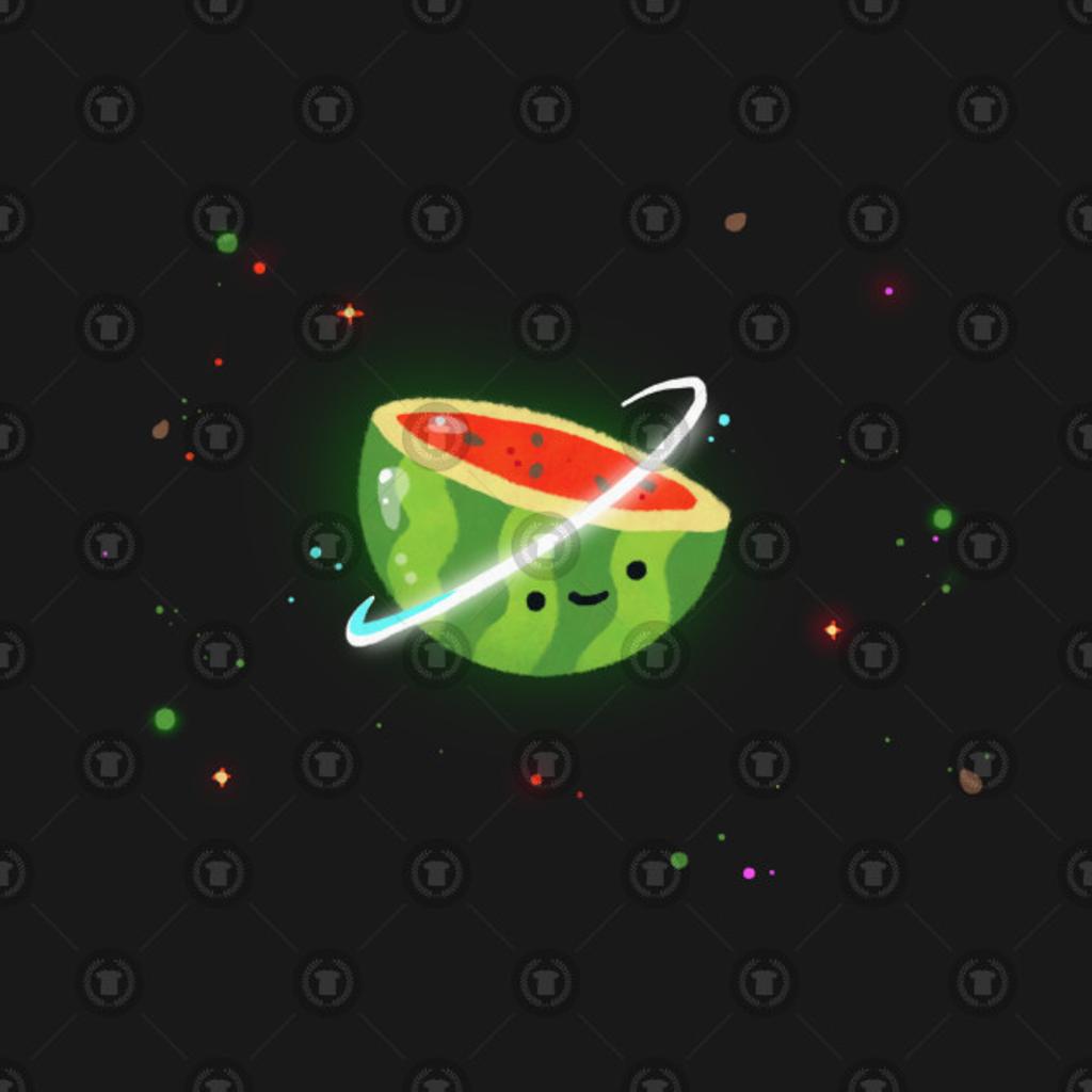 TeePublic: Space melon