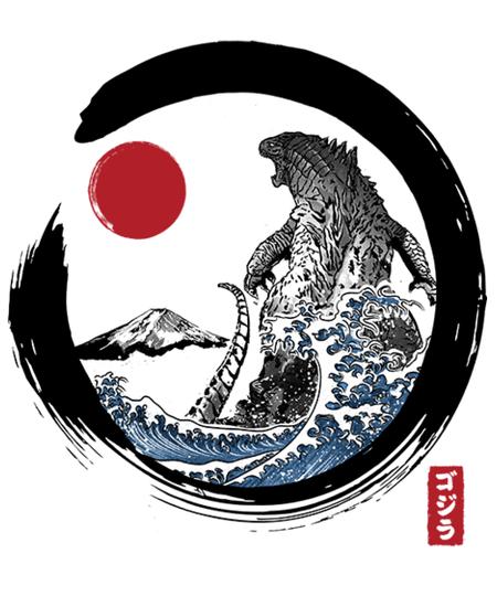Qwertee: Enso Kaiju