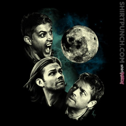 ShirtPunch: The Mountain Team Free Will Moon