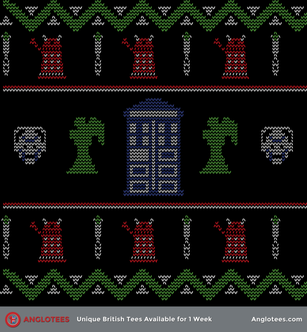 Anglotees: Doctor Who Christmas Jumper