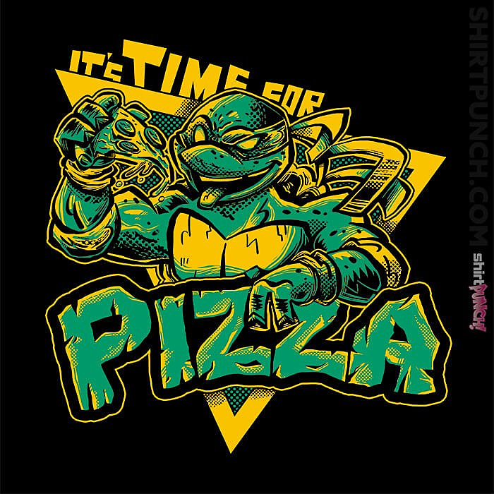 ShirtPunch: Pizza Time